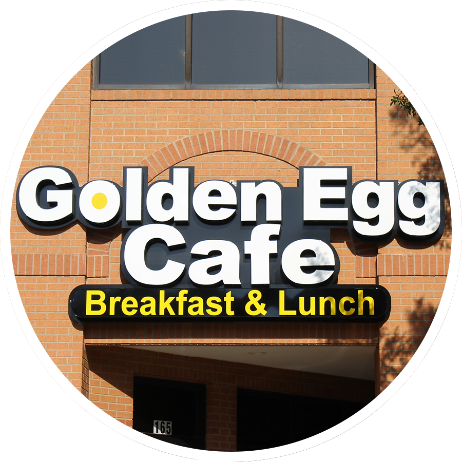 Golden Egg Spotlight Circle
